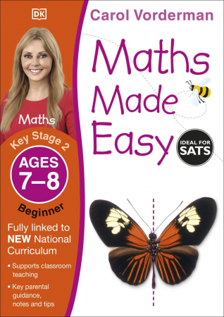 Maths Made Easy Ages 7-8 Key Stage 2 Beginner0