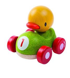 Duck racer - masinuta de lemn cu ratusca0
