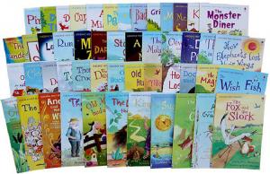 My first reading library - Colectie de 50 carti cu povesti in limba engleza0