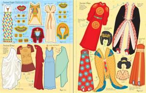 Fashion Long Ago Sticker Dolly Dressing3