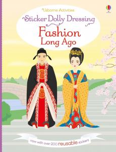 Fashion Long Ago Sticker Dolly Dressing0