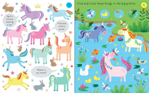 Little Children's Unicorns Pad1