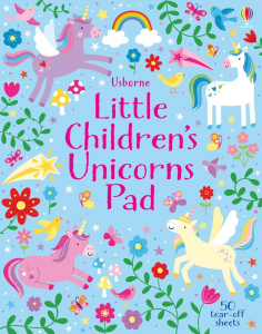 Little Children's Unicorns Pad0