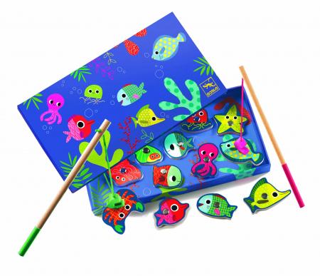 Joc de pescuit magnetic pesti colorati [1]