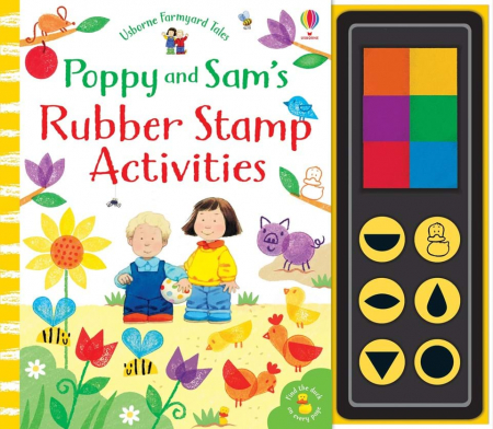 Poppy and Sam's rubber stamp activities0