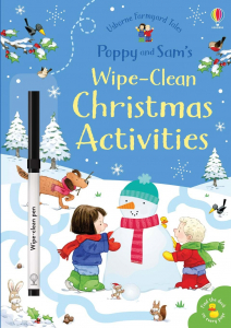 Christmas wipe clean activities Poppy and Sam0