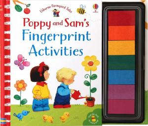 Poppy and Sam Fingerprint activities0