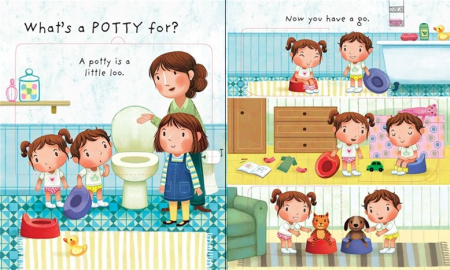 Why do we need a potty? [1]