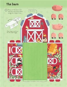 Press-out Paper Farm - Ferma de carton prin asamblarea pieselor2