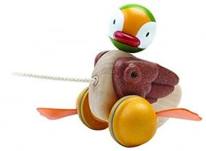 Jucărie de tras - rățușcă - Pull along duck0