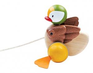 Jucărie de tras - rățușcă - Pull along duck1
