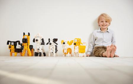 Set de construit Animale prietenoase 79 piese [3]