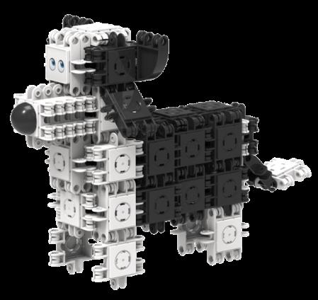 Set de construit Animale prietenoase 79 piese [1]