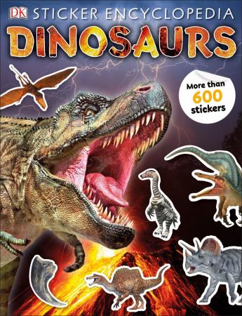 Sticker Encyclopedia Dinosaurs0