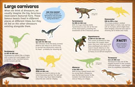 Sticker Encyclopedia Dinosaurs3
