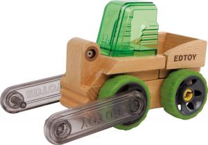 Stivuitor din lemn - vehicul transformabil4