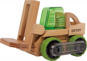 Stivuitor din lemn - vehicul transformabil0