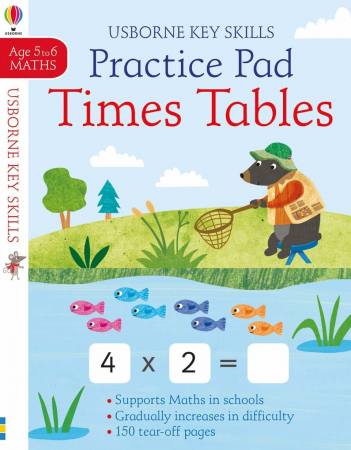 Times tables practice pad 5-6 caiet inmultire0