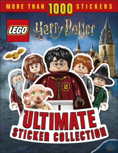 LEGO Harry Potter Ultimate Sticker Collection 1000 stickers0