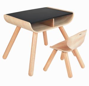 Set masa si scaun lemn [1]