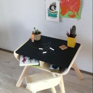 Set masa si scaun lemn [3]