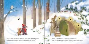 The twinkly twinkly Christmas tree- carte cu luminițe de Crăciun1
