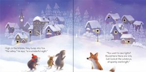 The twinkly twinkly Christmas tree- carte cu luminițe de Crăciun2