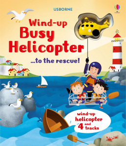 Wind-up busy helicopter...to the rescue0
