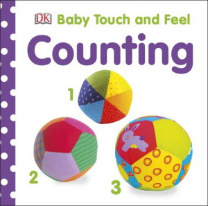Counting Touch and feel Carte numere cu insertii senzoriale0
