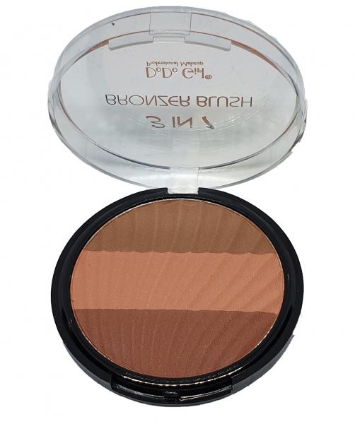 3 IN 1 Bronzer Blush DoDo Girl - 04 - PlusBeauty.ro 0