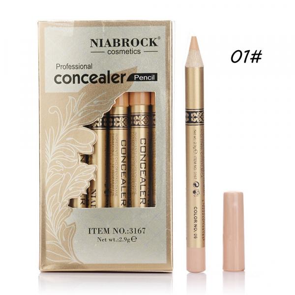 Creion Corector - Concealer Professional NIABROCK - 01 - PlusBeauty.ro 0