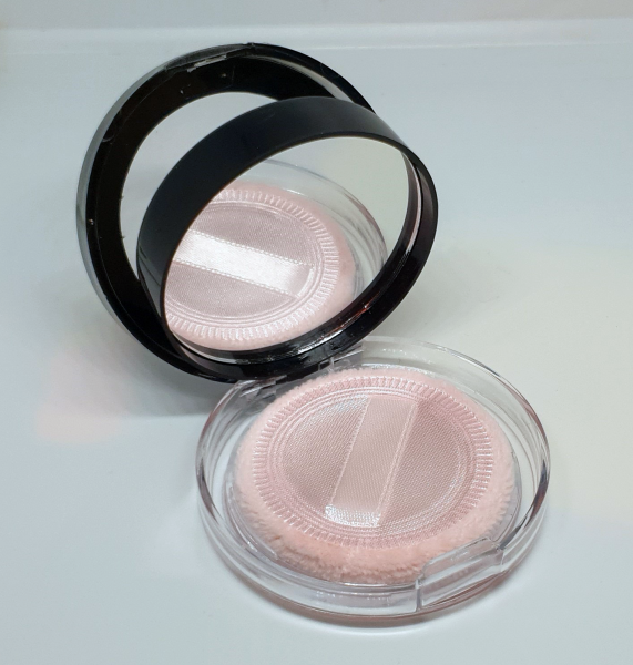 Pudra Blush Pressed Powder cu Oglinda si Burete Max&More - 501 Soft Pink - PlusBeauty.ro 1