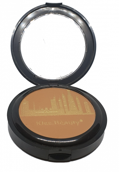 Pudra Compacta City Glow Smooth&Flawless Kiss Beauty - 01 - PlusBeauty.ro 0