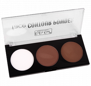 Trusa Contur & Iluminator - Face Contour Powder - 01 - PlusBeauty.ro 0