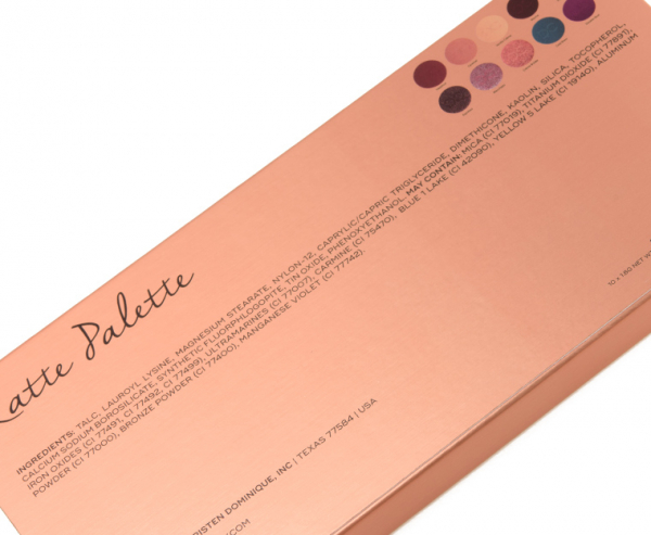 Trusa Farduri Dominique Latte Palette - PlusBeauty.ro 10