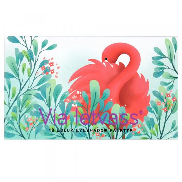 Trusa Farduri Profesionala Flamingo Via Letvass - PlusBeauty.ro 4