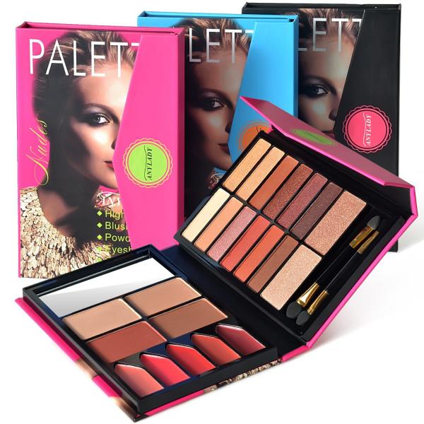 Trusa Machiaj All in One Beauty MakeUP Nudes Palette AnyLady - PlusBeauty.ro 0