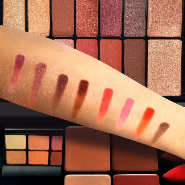 Trusa Machiaj All in One Beauty MakeUP Nudes Palette AnyLady - PlusBeauty.ro 2