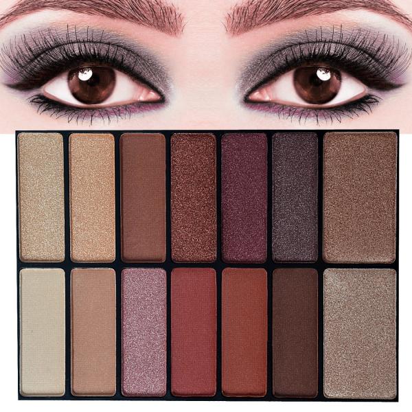 Trusa Machiaj All in One Beauty MakeUP Nudes Palette AnyLady - PlusBeauty.ro 3