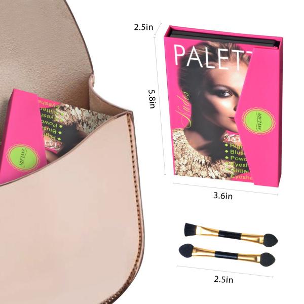 Trusa Machiaj All in One Beauty MakeUP Nudes Palette AnyLady - PlusBeauty.ro 4
