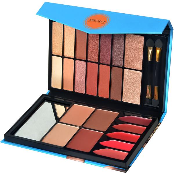 Trusa Machiaj All in One Beauty MakeUP Nudes Palette AnyLady - PlusBeauty.ro 1