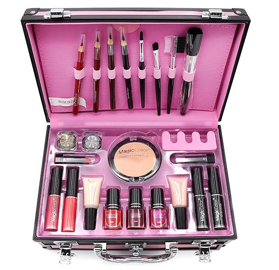 Trusa Machiaj Profesionala Magic Color Make Up Kit - 01 Pink - PlusBeauty.ro 2