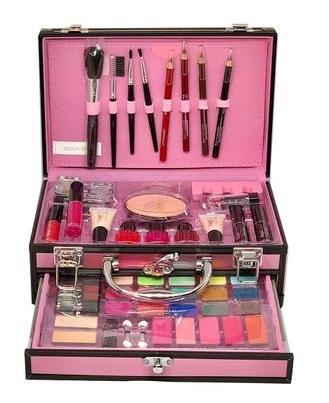 Trusa Machiaj Profesionala Magic Color Make Up Kit - 01 Pink - PlusBeauty.ro 1