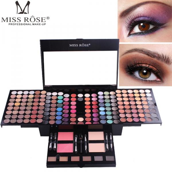 Trusa Machiaj Profesionala Miss Rose Color Spirit 190 culori - PlusBeauty.ro 0