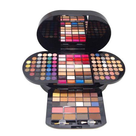 Trusa Machiaj Profesionala Miss Rose Brilliant Make-Up cu 130 culori - PlusBeauty.ro 0