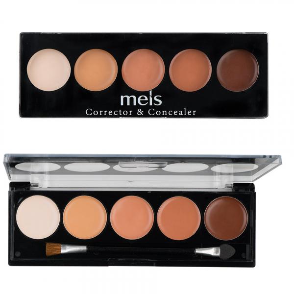 Anticearcan & Corector, Concealer MEIS 5 culori - 04 Nude Seduction - PlusBeauty.ro 0