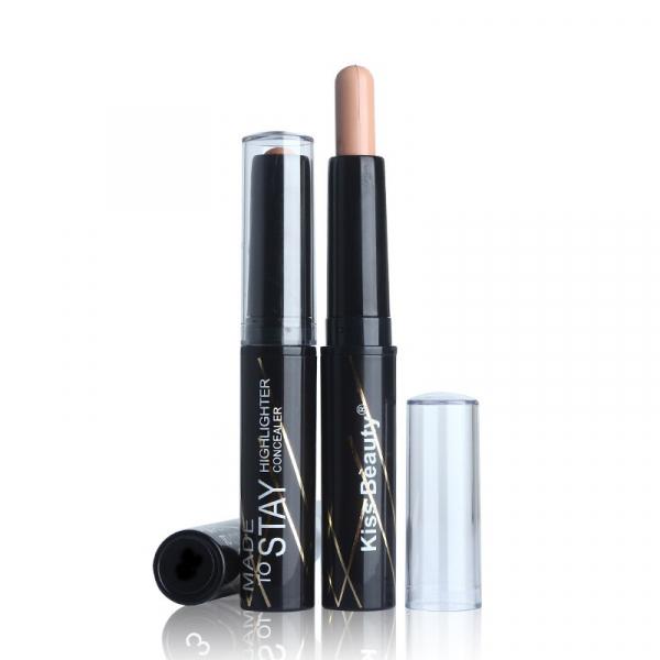 Baton Iluminator, Contur & Corector Kiss Beauty - 01 - PlusBeauty.ro 0