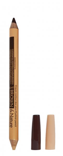 Corector si Creion Sprancene USHAS - Light Brown & Nature - 03 - Plusbeauty.ro 0