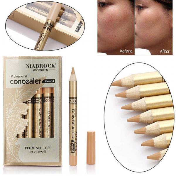 Creion Corector - Concealer Professional NIABROCK - 01 - PlusBeauty.ro 2