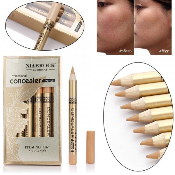 Creion Corector - Concealer Professional NIABROCK - 04 - PlusBeauty.ro 2
